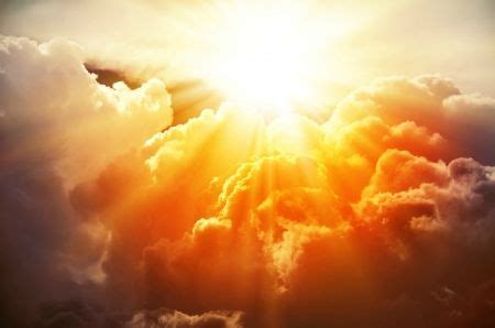 Heavenly Sky - clouds, sun, rays, sun rays, sky, Heavenly ...