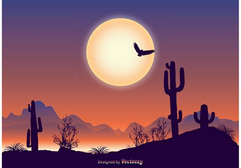 Beautiful Landscape Illustration - Download Free Vectors ...