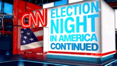 CNN tries to 'stretch' election night to another night - NewscastStudio