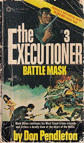 BATTLE MASK (EXECUTIONER #3) By Don Pendleton *Excellent Condition* | eBay