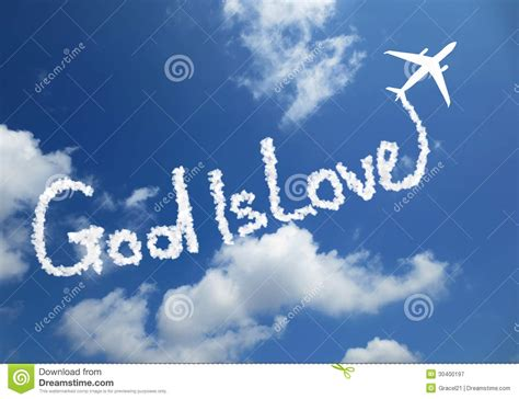God Is Love Royalty Free Stock Photography - Image: 30400197