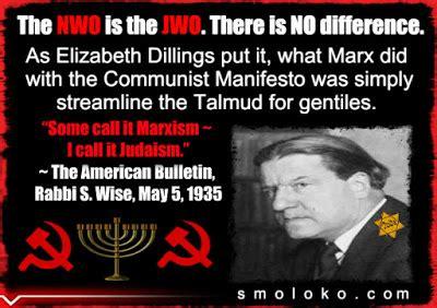 TradCatKnight: Globalism Is Judaism...