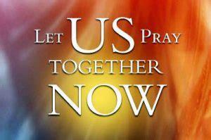 Let us pray together! - Evangelical Endtimemachine
