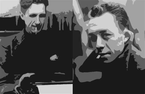 Swimming Against Themselves; George Orwell and Albert Camus - J.W. Carey