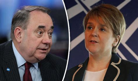 Alex Salmond fuels speculation about an SNP cabinet ...