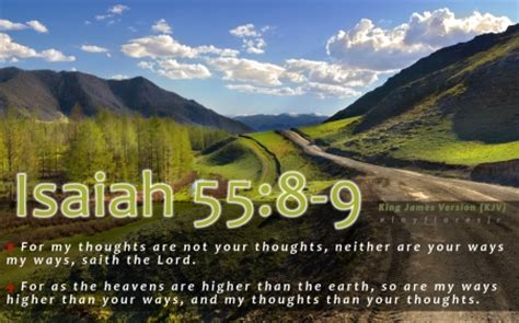 Isaiah 55:8-9 - Other & Nature Background Wallpapers on ...
