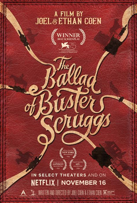 The Ballad of Buster Scruggs (2018) Poster #1 - Trailer Addict