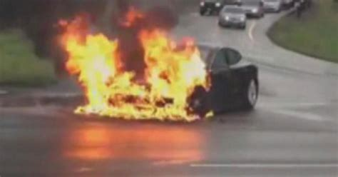 NTSB wants to learn more about Tesla battery fire - CBS News