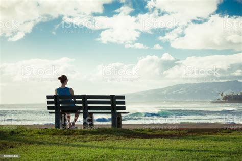 Girl Enjoying Beautiful Scenery Stock Photo - Download ...