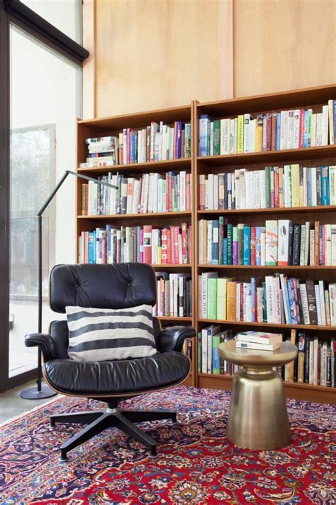 Recliner with Large Bookcase