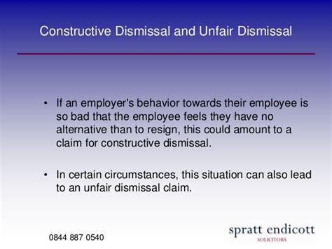 Unfair Dismissal in the UK