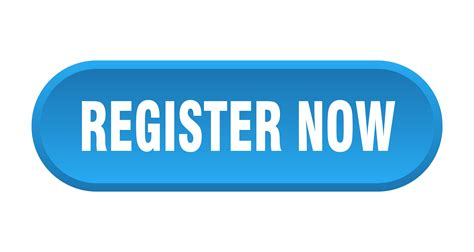 register now button. register now rounded blue sign ...