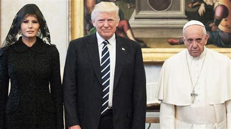 Melania and Ivanka Trump Wear Black Veils to Meet Pope ...