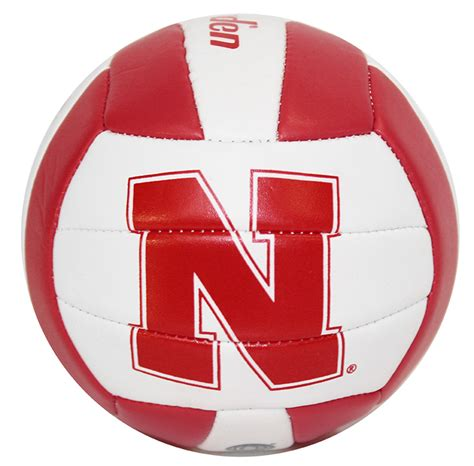 Nebraska Husker Mini Volleyball