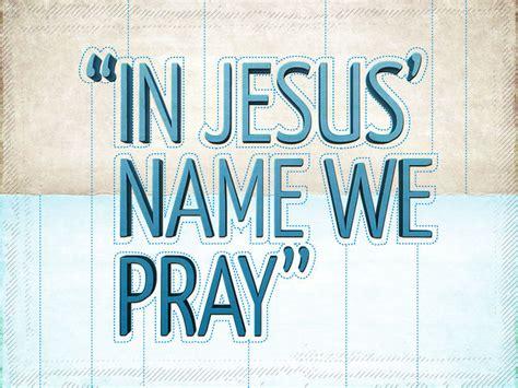 In Jesus Name We Pray - Link - July 24 on Vimeo