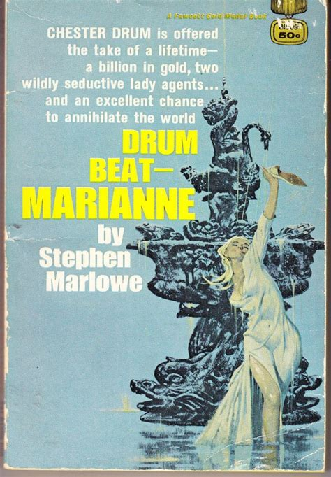 Kevin's Corner: FFB Review: Drum Beat-Marianne by Stephen Marlowe--Review by Barry Ergang