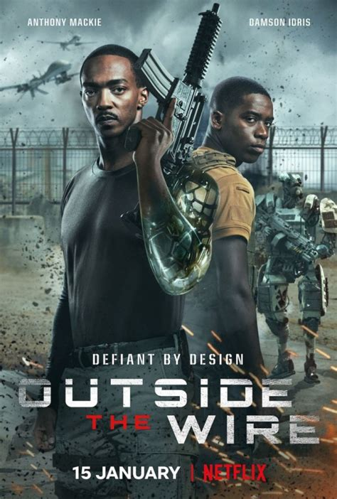 Movie Review - Outside the Wire (2021)