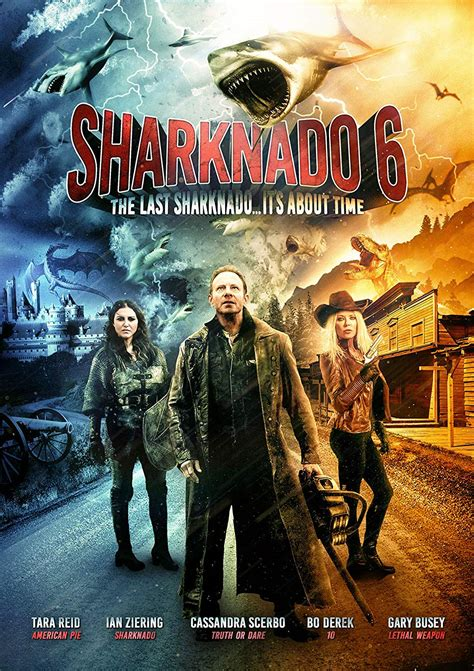 The Last Sharknado - It's About Time (UK-import) (DVD)