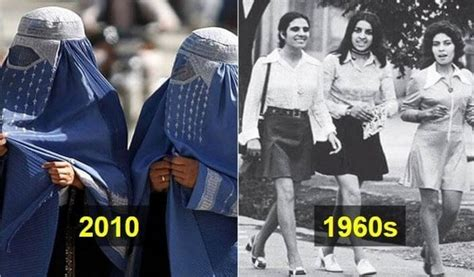 What are some photos which show how women were free in ...