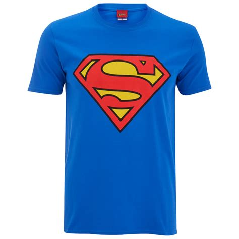 DC Comics Men's Superman Logo T-Shirt - Royal Blue ...