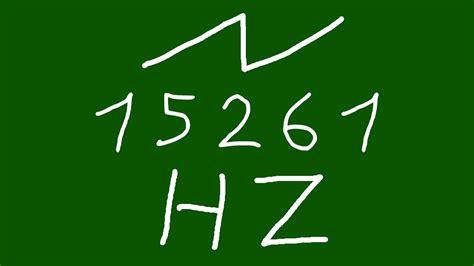 15261 hz saw - YouTube