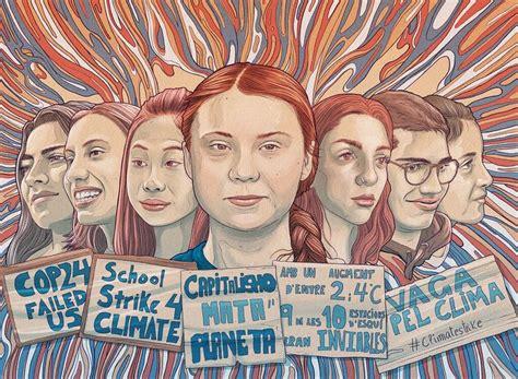Greta Thunberg - Tavo Montañez | Graphic, Illustration, Greta