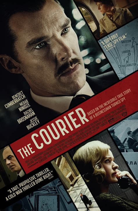 """The Courier"" Starring Benedict Cumberbatch and Rachel ..."