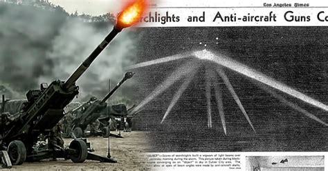 The Battle Of Los Angeles: A UFO Sighting In Los Angeles ...