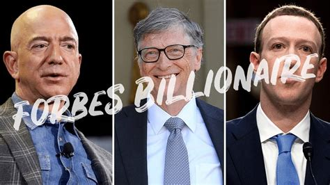 Top 10 Richest Man in the World in 2020 | Forbes Top 10 ...