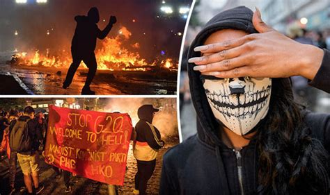 Hamburg G20 protests: What is Antifa? Who are the 'Welcome to Hell' protestors? | World | News ...