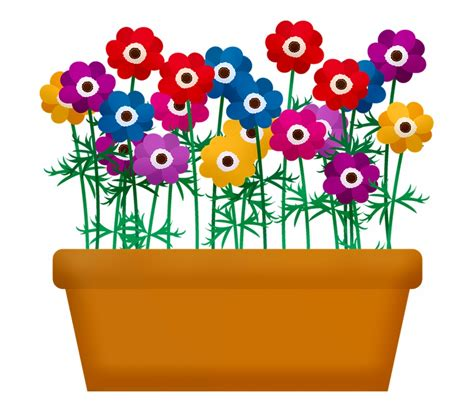 Flower Garden Clipart Png - Get Images One