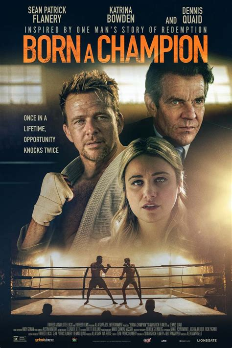 Born a Champion DVD Release Date January 26, 2021