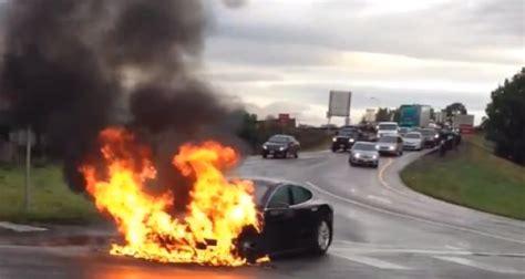Une Tesla Model S prend feu dans la région de Seattle