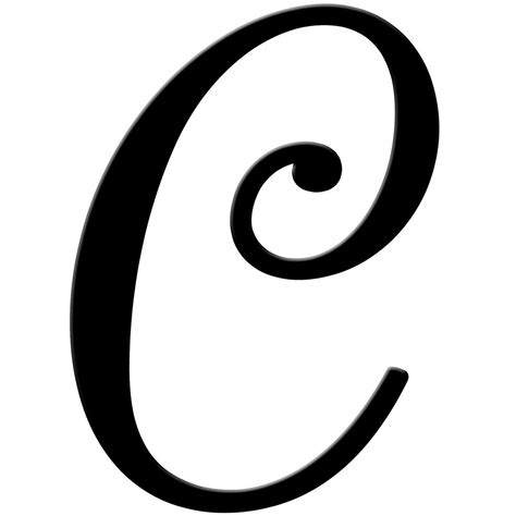 Fancy Letter C Template The Ten Common Stereotypes When It ...