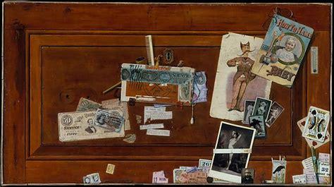 John Haberle | A Bachelor's Drawer | American | The Met