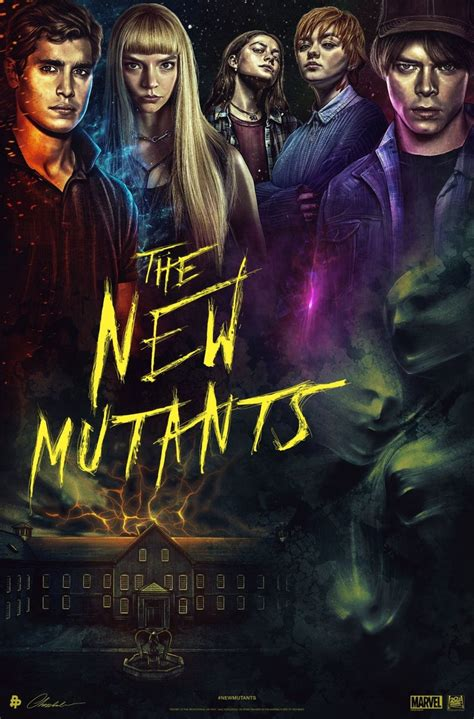 The New Mutants Unveils New Posters at Comic-Con 2020