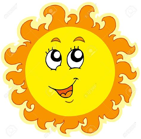 Cute Sun Clipart | Free download on ClipArtMag