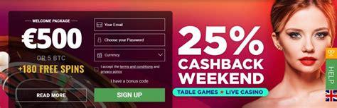 Welkomstbonus bij BitStarz casino online