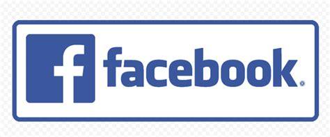 Horizontal Facebook Logo Text With Symbol