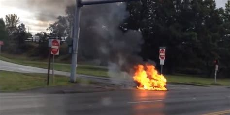 Tesla Loses Up To $3 Billion In Market Value After Video Of Burning Car Goes Viral | HuffPost