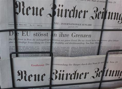 Schweiz: Neue Zürcher Zeitung auf AfD-Kurs | KRITISCHES ...