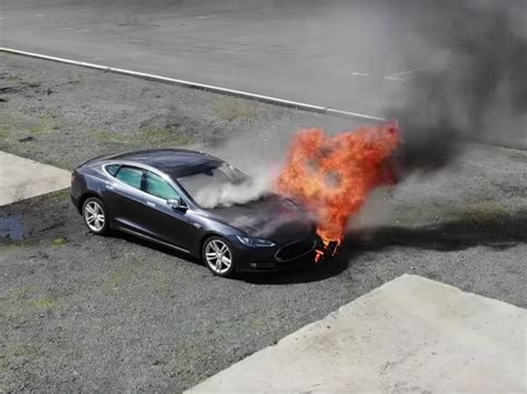 Why Tesla cars catch on fire - Business Insider