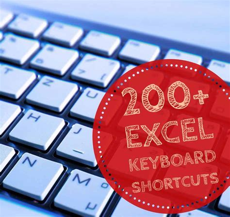 200+ Excel Keyboard Shortcuts - 10x Your Productivity