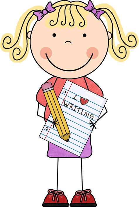 Best Kids Writing Clipart #20784 - Clipartion.com