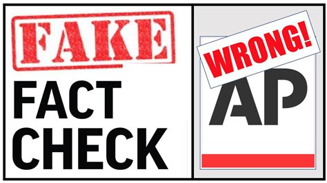 Fake Fact Check: AP Ignores Info Proving Trump Right on ...