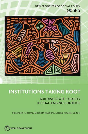 Institutions Taking Root