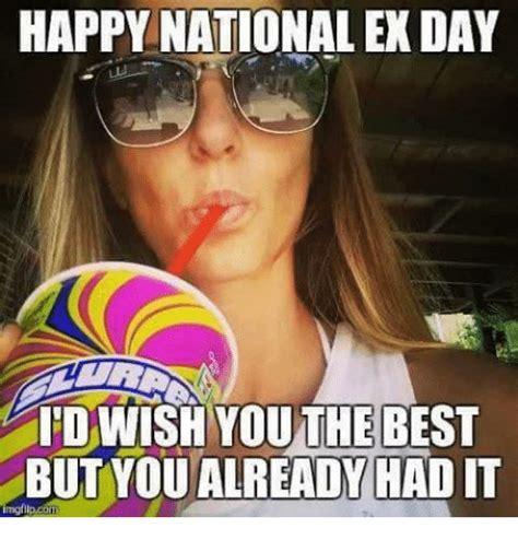 HAPPY NATIONAL EX DAY IDWISH YOUTHEBEST BUT YOU ALREADY ...
