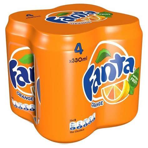 Fanta Orange 330ml x 4 | Approved Food