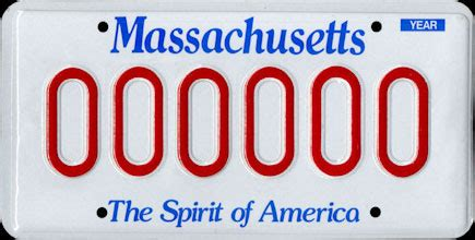 Vehicle registration plates of Massachusetts - Wikipedia