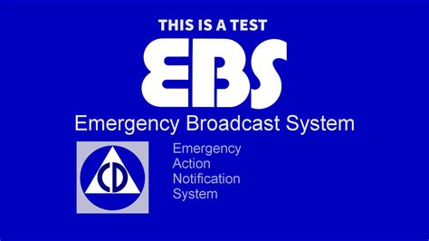Emergency Broadcast System (EBS) Test - YouTube